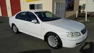 2003 Ford Fairmont BA White 4 Speed Auto Seq Sportshift Sedan Coopers Plains Brisbane South West Preview