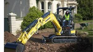 DIY - 4 Tonne Excavator Dry Hire Eagle Farm Brisbane North East Preview