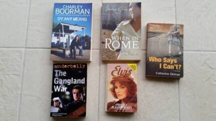 Non Fiction Novels Maidstone Maribyrnong Area Preview