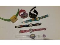 Girls and boys watches great condition great working
