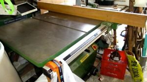 Table Saw Work Station - also Planer/Moulder & Joiner