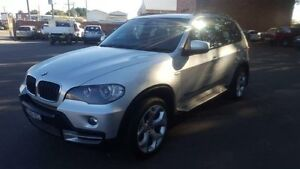 2008 BMW X5 E70 3.0D Silver 6 Speed Steptronic Wagon Georgetown Newcastle Area Preview