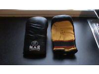 M.A.R. International Kick Boxing / Martial Arts Gloves.