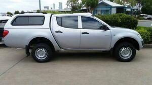 2012 Mitsubishi Triton MN MY12 GLX Double Cab Silver 4 Speed Automatic Utility Acacia Ridge Brisbane South West Preview