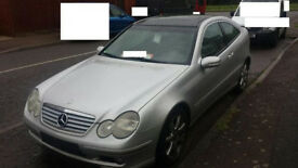 mercedes c class w203 breaking for spares and repairs call us for any info