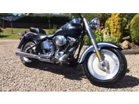 Harley Davidson Fatboy 2003 Anniversary Model