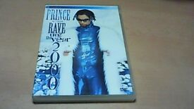 PRINCE - IN CONCERT DVD-RAVE UN2 THE YEAR 2000.