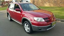 2004 Mitsubishi Outlander ZE LS Red 4 Speed Auto Sports Mode Wagon Condell Park Bankstown Area Preview