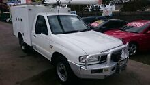 2002 Mazda B2500 Bravo DX (4x4) White 5 Speed Manual 4x4 Cab Chassis Maidstone Maribyrnong Area Preview
