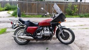 1976 Honda GL1000 Gold Wing - safetied!