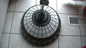 Large Tiffany style Ceiling lamp Kitchener / Waterloo Kitchener Area image 3