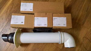 Rhinnai Tankless Non Condensing Exhaust Parts - Most New in Box