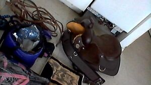 new horse saddle with all accessories 1000