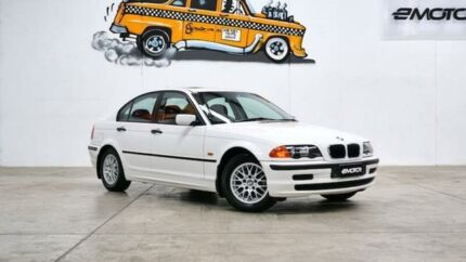 2000 BMW 318I E46 White Automatic Sedan Williamstown North Hobsons Bay Area Preview