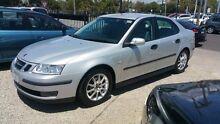 2002 Saab 9-3 MY03 Linear 1.8T Silver 5 Speed Automatic Sedan Frankston Frankston Area Preview