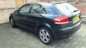 Audi a3 2.0tdi sport for sale exelent condition louth fink change got all papers MOTTILL 2018 158000