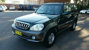 2002 Hyundai Terracan Highlander Green 5 Speed Manual Wagon Georgetown Newcastle Area Preview