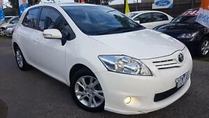 2012 Toyota Corolla ZRE152R MY11 Ascent Sport White 6 Speed Manual Hatchback Maidstone Maribyrnong Area Preview