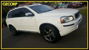 2012 Volvo XC90 MY12 D5 R-Design (AWD) White 6 Speed Automatic Geartronic Wagon Homebush Strathfield Area Preview