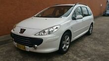 2007 Peugeot 307 T6 XSE HDI White 6 Speed Manual Wagon Yagoona Bankstown Area Preview