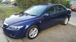 2006 Mazda 6 GG 05 Upgrade Classic Navy Blue 6 Speed Manual Sedan Macquarie Hills Lake Macquarie Area Preview