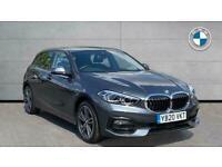 2020 BMW 1 Series 120D Sport 5Dr Step Auto Hatchback Diesel Automatic