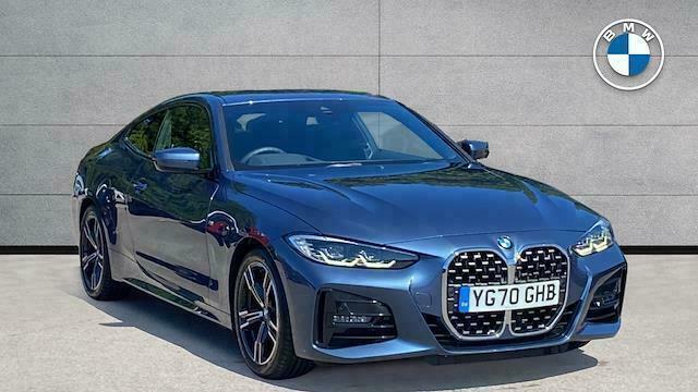2020 BMW 4 Series 420D Mht M Sport 2Dr Step Auto Coupe Diesel Automatic