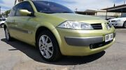 2003 Renault Megane II C84 Dynamique Sport Pearl Green 4 Speed Sports Automatic Hatchback Enfield Port Adelaide Area Preview