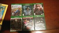 Factory Sealed Xbox One Games