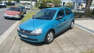 2001 Holden Barina XC Blue 4 Speed Automatic Hatchback Macquarie Hills Lake Macquarie Area Preview