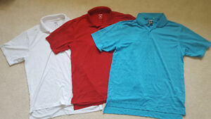 Mens Adidas golf shirts