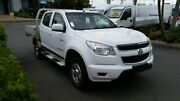 2013 Holden Colorado RG MY13 LX Crew Cab White 6 Speed Sports Automatic Cab Chassis Acacia Ridge Brisbane South West Preview