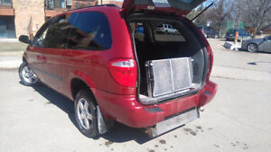 Wheelchair Dodge Grand Caravan Minivan, Van