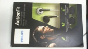 Philips SHQ1200WT/28 ActionFit Sports In-Ear Headphones, White