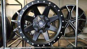 !! BRAND NEW 17X9 -12 OFFSET $990 RIDERS AUTOWORKS!!