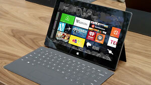 Microsoft Surface RT 32gb tablet with keyboard