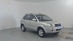 2007 Hyundai Tucson MY07 City SX Warm Silver 5 Speed Manual Wagon Perth Airport Belmont Area Preview