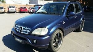 2001 Mercedes-Benz ML 430 (4x4) Blue 5 Speed Auto Tipshift Wagon Georgetown Newcastle Area Preview