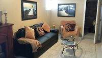 East End Furnished Basement Suite Available Immedicately