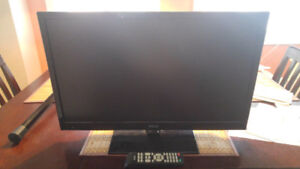 "RCA 24"" Inch LED Flat Screen TV With Original Remote."