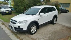 2008 Holden Captiva CG MY09 SX (FWD) White 5 Speed Automatic Wagon Macquarie Hills Lake Macquarie Area Preview