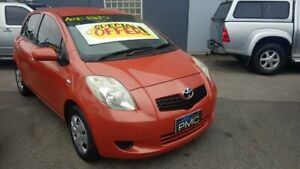 2008 Toyota Yaris NCP90R YR 4 Speed Automatic Hatchback Prospect Prospect Area Preview