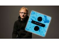 Ed Sheeran London o2 standing tickets