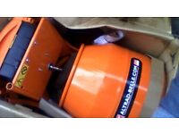 belle cement mixer mini mixer 150 240v with stand brand new never been used.