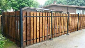 Wood Fencing Installations
