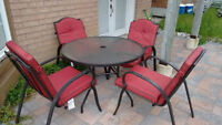 Patio Furniture and BBQ