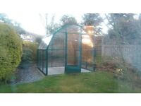 Wisley 8 Greenhouse for sale - retail £4000