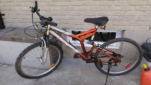 26'' Raleigh Mountain Bicycle with Shocks
