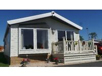 Bungalow Park Home Ayrshire Almost new home - price reduced for quick sale