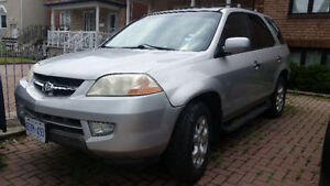 2002 Acura MDX SUV, for sale